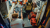Team of paramedics