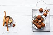 Vegan Brazil Nut and Cinnamon Balls