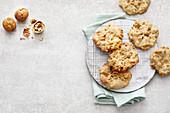 Vegan walnut cookies