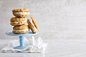 Vegane Lemon-White-Chocolate-Cookies
