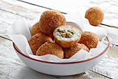 Arancini - rice balls with chicken