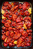 Slow Roasted Tomato, Garlic and Chili in Olive Oil