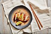 Grilled miso chicken (Japan)