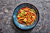 Stir Fried Pork with Tofu