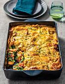 Creamy Chicken and Sundried Tomato Lasagne