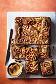 Peanut Butter And Pretzel Brownies