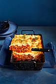 Vegane Linsen-Lasagne