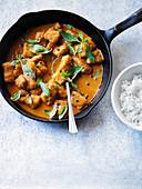Thai pollock curry