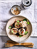 Thai Sue Mai Open Top Dumplings