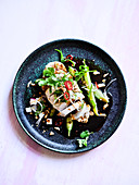 Mouthwatering Chicken Salad with Black Vinegar Dressing
