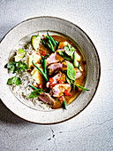 Sour Yellow Duck Curry with Pineapple