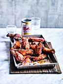 Soy and Togarashi Chicken Wings