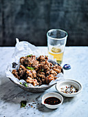 Taiwanese Fried Chicken with Five Spice Chilli Salt