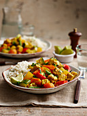Quorn with Mixed Vegetable Korma