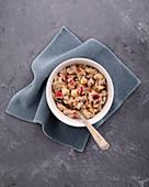Buckwheat porridge with cinnamon and apple