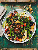 Broccolini salad with parmesan and pancetta