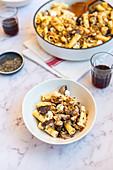 Mushroom and Ricotta Pasta Bake