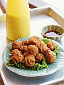 Thai rice vegetable balls