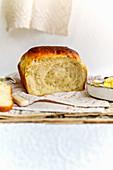 Japanesa milk bread
