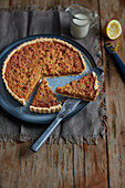 Treacle tart - Buttery and sweet with a little lemon zing