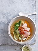 Soup Kim-chi ramen