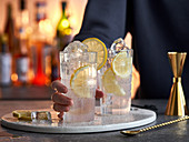 'Lucky Loser' cocktails