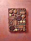 Chocolate biscuit tray