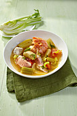 Quick fennel fish stew with potatoes