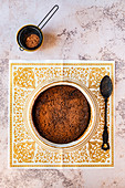 Self Saucing Chocolate Pudding with Cocoa Powder