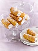 Kefir cream rolls (horns)