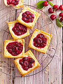 Cherry and Cheese Squares