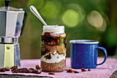 Overnight oats with peanut butter