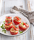 Tomatoes mediterranean style