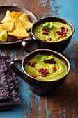 Summer cold avocado soup
