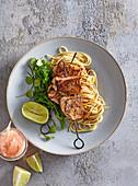 Tenderloin with Asia noodles