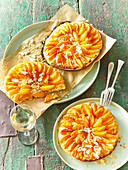 Small apricot cakes