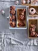 Salt almond in chocolate