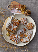 Soft Christmas gingerbreads