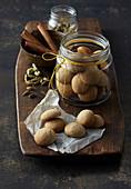 Spicy Danish Chritsmas cookies
