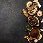 Zutaten für Chaga Mushroom Coffee