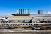 Steel mill, Dearborn, Michigan, USA