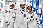 SpaceX Crew-1 astronauts