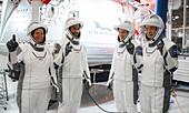 NASA SpaceX Crew-1 astronauts