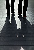 Couple with shadows