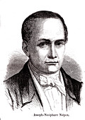 Joseph Nicephore Niepce, French inventor
