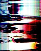 Digital noise, conceptual image