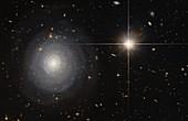Starburst galaxy, HST image