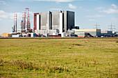 Hartlepool nuclear power station, England, UK