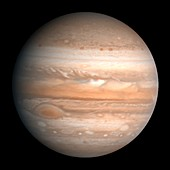 Jupiter, Voyager image