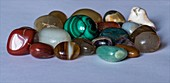 Collection of gem stones